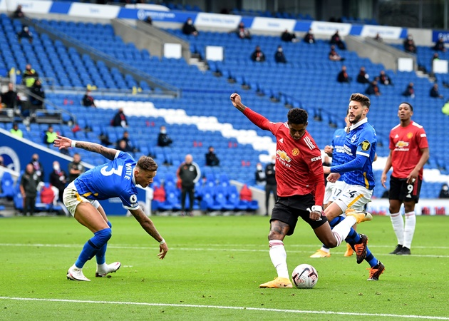 Ole Gunnar Solskjaer explains why he was annoyed with Marcus Rashford during Man Utd win over Brighton - Bóng Đá