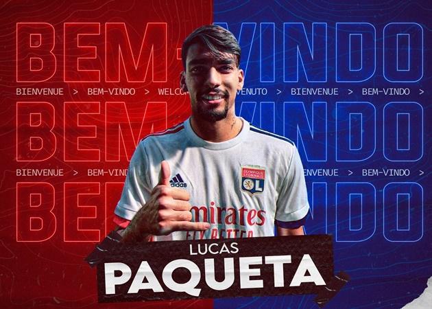 Official: Lyon sign Paqueta from AC Milan - Bóng Đá