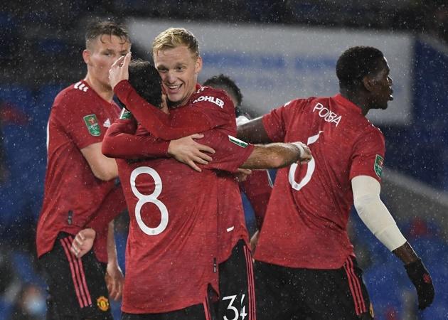 Donny van de Beek could start for Man Utd against Tottenham, says Ole Gunnar Solskjaer - Bóng Đá