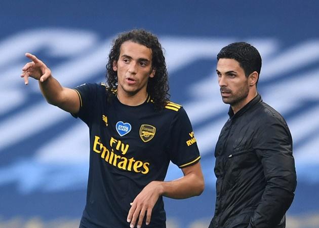Arsenal boss Mikel Arteta praised for 'firm' stance over Matteo Guendouzi fallout - Bóng Đá