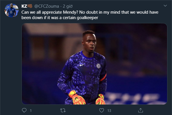 Chelsea fans react to Edouard Mendy performance against Sevilla - Bóng Đá