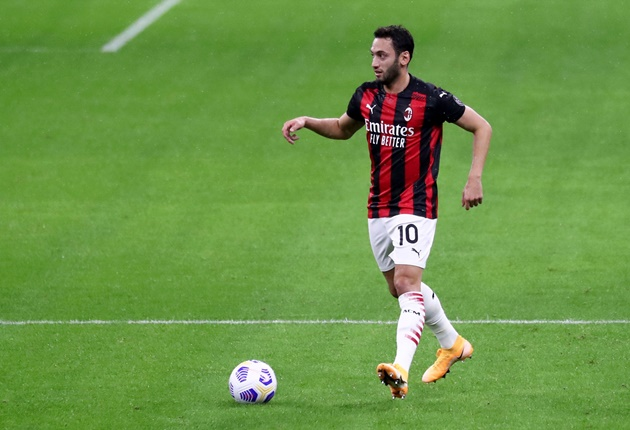 Manchester United in concrete talks to sign AC Milan star Hakan Calhanoglu on free transfer - Bóng Đá