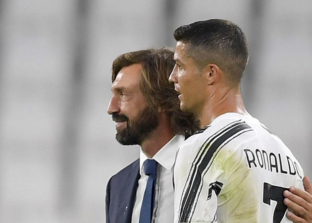 Pirlo: Today Cristiano Ronaldo will be called up to the team. - Bóng Đá