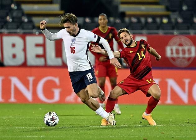 10 thống kê ấn tượng trận Bỉ 2-0 Anh: 'Máy cày' Grealish quá đỉnh - Bóng Đá