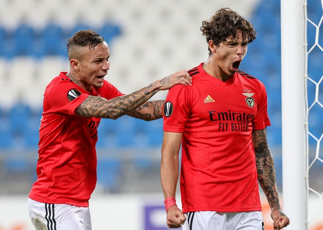 Pep Guardiola 'eyeing move for Benfica striker Darwin Nunez'  - Bóng Đá