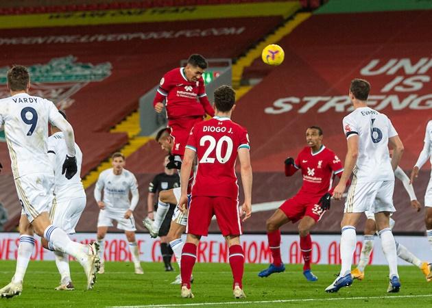 5. Đây là bàn thắng thứ 2 của Roberto Firmino ở mùa giải năm nay trên sân Anfield. Trong khi ở cả mùa giải 2019/20 vừa qua, anh chỉ ghi 1 bàn trong 19 trận.