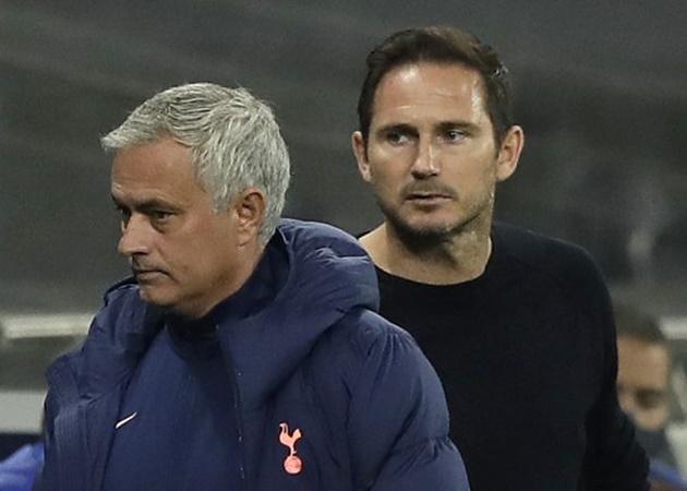 Spurs gặp Chelsea, Mourinho lại tuyên bố đáng chú ý về Lampard - Bóng Đá
