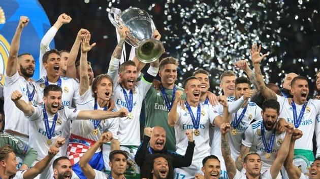 Chưa đá Champions League 2018/19, Real đã nhận khoản tiền lên tới 50 triệu euro - Bóng Đá