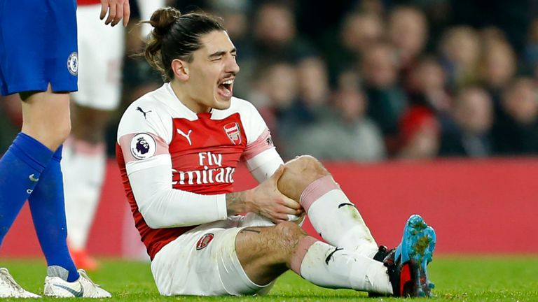 Hector Bellerin 'Identifies' Return Date as Defender Continues Rehabilitation From Knee Injury - Bóng Đá