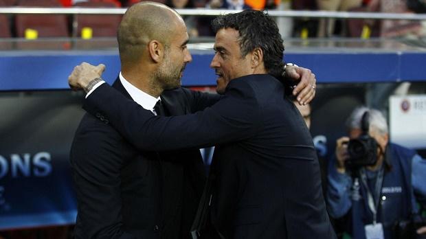Luis Enrique liệu đã vượt qua cái bóng của Guardiola?