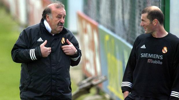 HLV Del Bosque chỉ trích truyền thông đánh giá thấp Zidane