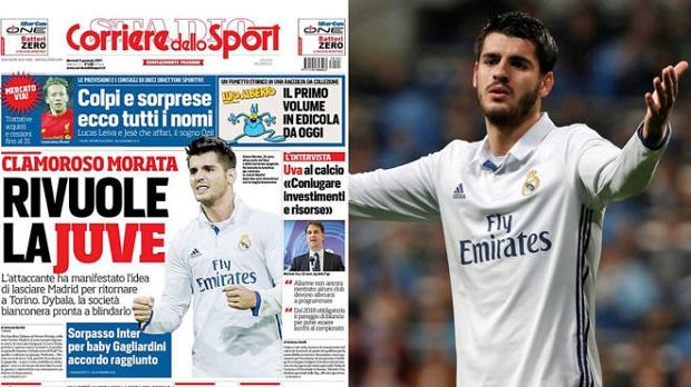 Không hạnh phúc tại Real, Morata tính đường 'đào tẩu'?