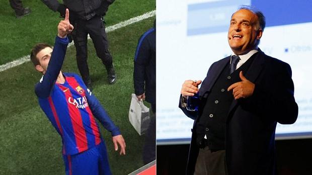 Chủ tịch La Liga 'xuống nước' với Pique và Barca - Bóng Đá