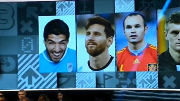 Suarez bị FIFA 'dìm hàng' trong lễ trao giải - Bóng Đá
