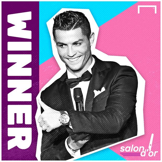 Sau Quả bóng vàng, Ronaldo ẵm thêm...'Mái tóc vàng' của năm - Bóng Đá