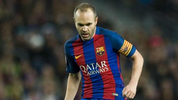 Iniesta và cột mốc mới trong màu áo Barcelona