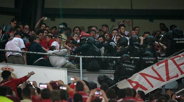 Bayern Munich đâm đơn kiện cảnh sát Tây Ban Nha - Bóng Đá