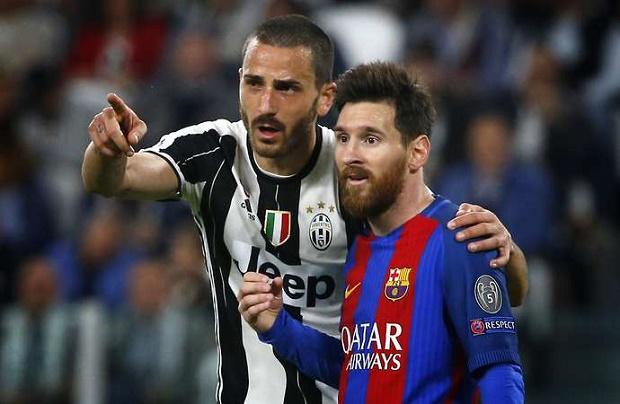 Sao Juventus 'tranh nhau' đổi áo với Messi - Bóng Đá