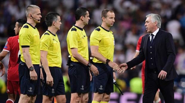 Trọng tài thiên vị Real Madrid, Ancelotti vẫn chưa nguôi giận - Bóng Đá