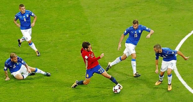 Isco - Asensio và thách thức thay thế Xavi - Iniesta tại ĐT Tây Ban Nha - Bóng Đá