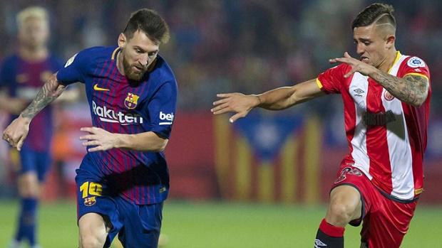 Sao trẻ Girona bị messi 'tra khảo' sau trận đấu - Bóng Đá