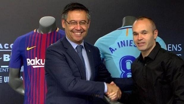 Andres Iniesta: Bản hợp đồng trọn đời và những cột mốc đáng nhớ tại Barcelona