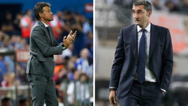 Về cách dùng người, Ernesto Valverde không khác Luis Enrique - Bóng Đá