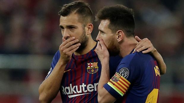 Jordi Alba: Neymar ra đi có lợi cho tôi - Bóng Đá