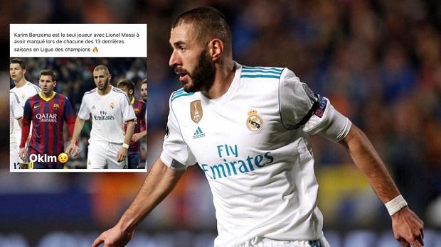Về thành tích này, duy nhất Benzema sánh ngang Messi - Bóng Đá