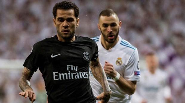 Dani Alves chỉ ra nguyên nhân PSG thất bại cay đắng trên Bernabeu - Bóng Đá
