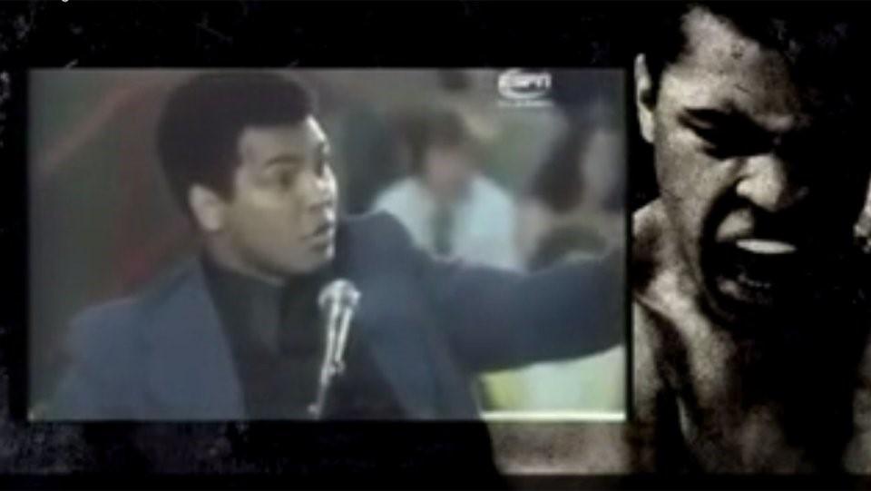 Ali the Fighter (1974): Một trong những tác phẩm điện ảnh đầu tiên về Muhammad Ali thuộc dòng tài liệu. Ali the Fighter tập trung kể lại lần chạm trán giữa huyền thoại với đối thủ Joe Frazier, cũng như những câu chuyện điên rồ phía sau sự kiện thể thao và bên ngoài võ đài. Ảnh: Internet.