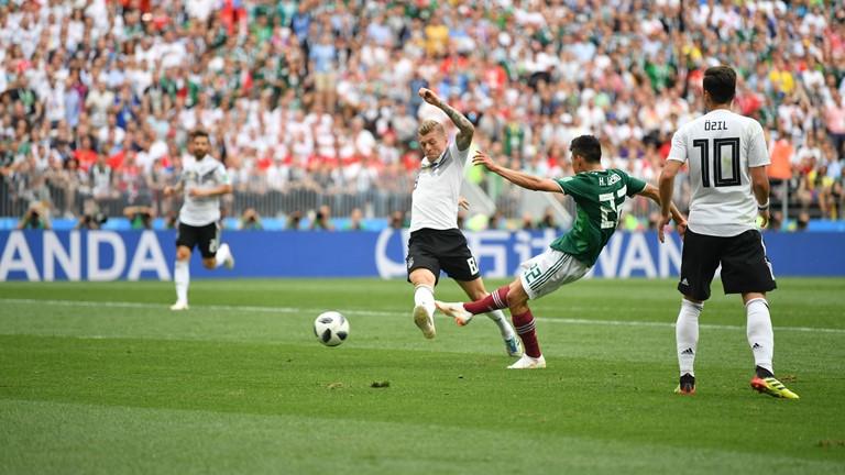 TRỰC TIẾP Đức 0-1 Mexico: Mexico vượt lên dẫn trước - Bóng Đá