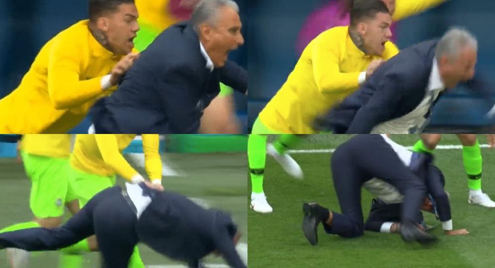 Ăn mừng Neymar, Tite chấn thương - Bóng Đá