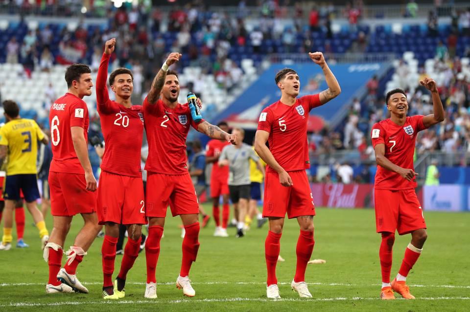 Thống kê ở trận bán kết sau 28 năm của Anh - Bóng Đá