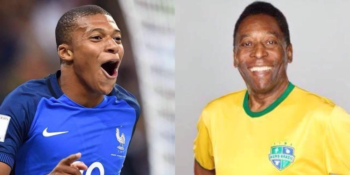 Mbappe cầu thủ tuổi teen thứ 3 vô địch WC sau Pele - Bóng Đá