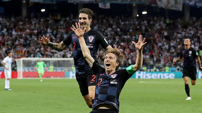 Đường đến chung kết của Croatia - Bóng Đá