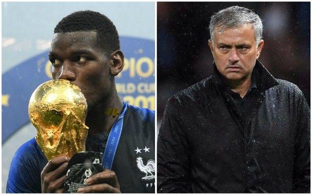 Pogba vô địch World Cup là thất bại lớn nhất của Mourinho - Bóng Đá