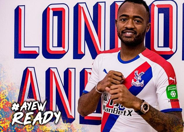 Ayew ký Crystal Palace - Bóng Đá