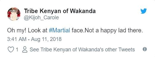 'Đắng lòng' với vẻ mặt của Martial khi Fellaini vào sân thay người - Bóng Đá