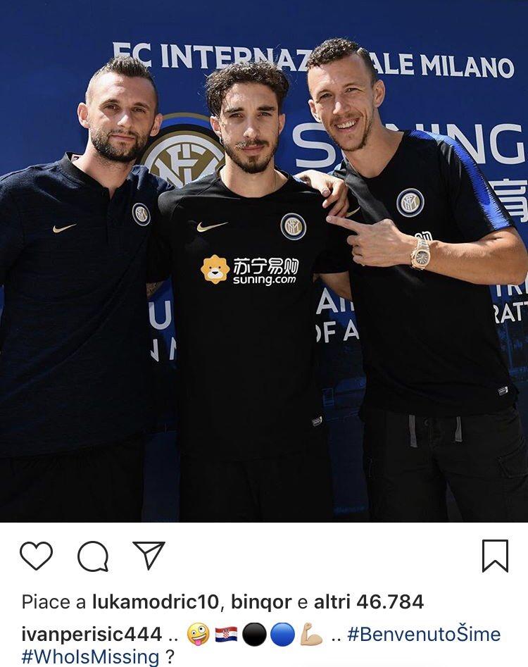 Perisic tiết lộ trên Instagram Modric sắp gia nhập Inter? - Bóng Đá
