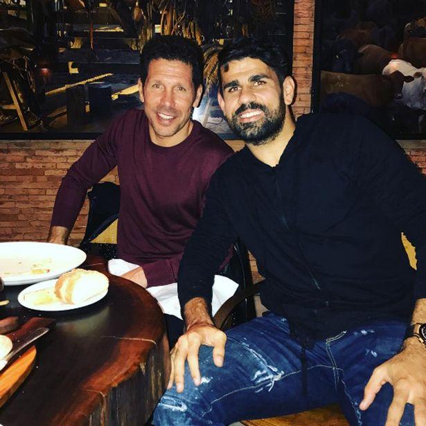 Diego Costa nói với Simeone phải ký với mình tại Chelsea - Bóng Đá