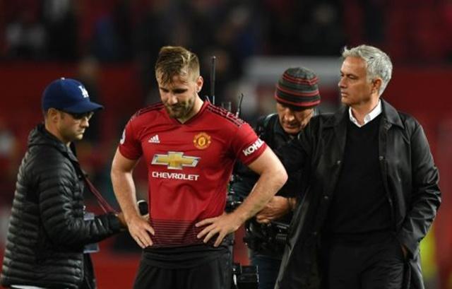 Shaw tiết lộ bài nói chuyện giữa hiệp của Mourinho - Bóng Đá
