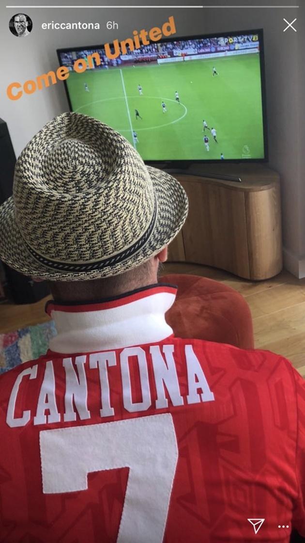 Cantona xem MU đá Burnley - Bóng Đá