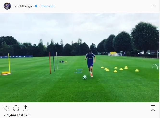 Fabregas trở lại tập luyện - Bóng Đá