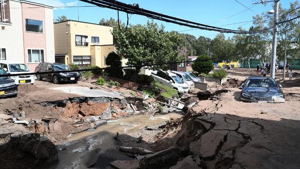 Động đất kinh hoàng tại Hokkaido, Nhật Bản hủy giao hữu với Chile - Bóng Đá