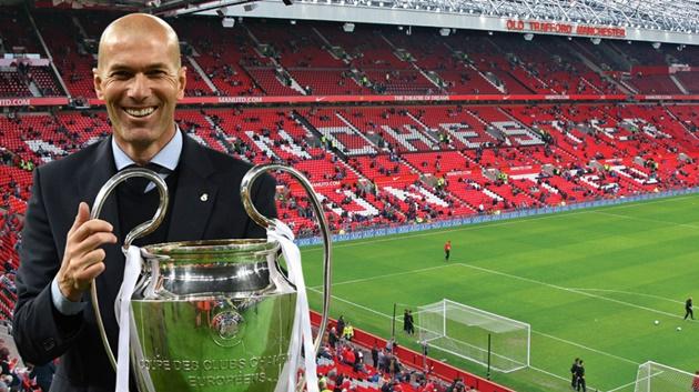4 cái tên Zidane muốn M.U chiêu mộ - Bóng Đá