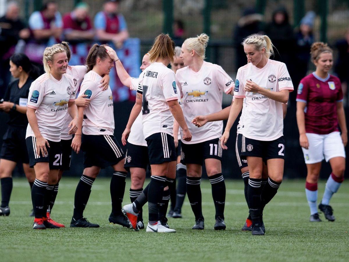 M.U nữ thắng Aston Villa 12-0 - Bóng Đá