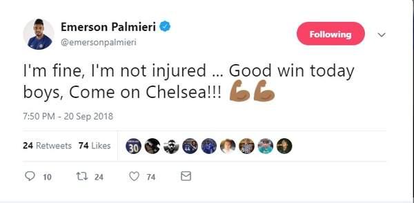Emerson bực bội vì không được Chelsea sử dụng - Bóng Đá