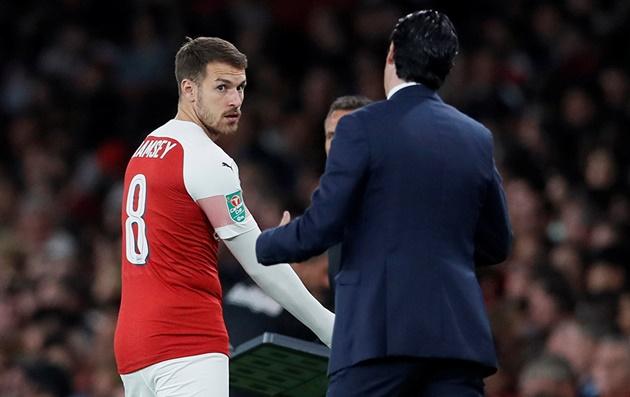 Arsenal sẵn sàng nhận đề nghị mua Ramsey mùa đông - Bóng Đá