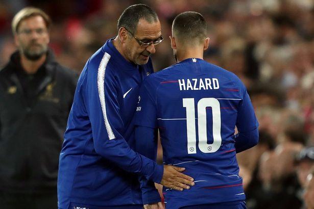 Sarri: Hazard chỉ mới dùng 70% công lực - Bóng Đá